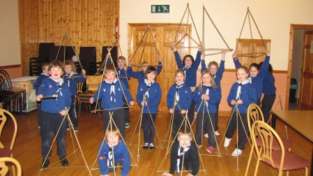 Beavers develop their Pioneering skills